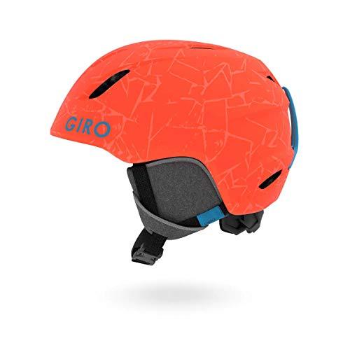 GIRO LAUNCH 18/19 Junior Kinder Skihelm Snowboardhelm Ski Snowboard Helm 240115(MATTE VERMILLION ROCK,S (52 - 55.5cm)) -