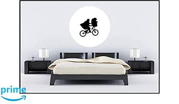 Bedroom Vinyl Wall Sticker Decal ET E.T Moon Mural Decoration removable no paint