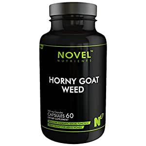 Novel Nutrients Horny Goat - 60 Capsules In Pack