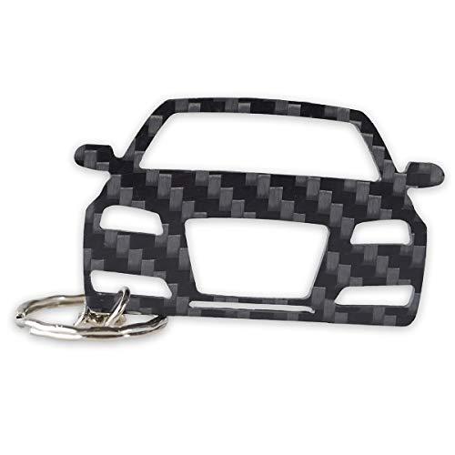 Preisvergleich Produktbild Audi Schlüssel-Anhänger / echtes Carbon / Geschenk-Idee / Tuning / Audi A3 (2010)