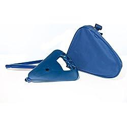 Activera - Asiento plegable para caza (altura del asiento 70 cm), color azul