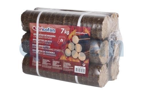 Cofan 43050106 Bricchetti di legno 7 kg