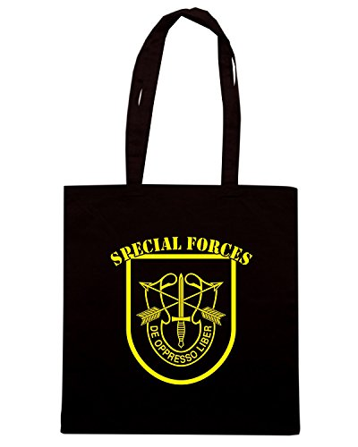 T-Shirtshock - Borsa Shopping T0327 SPECIAL FORCES militari Nero