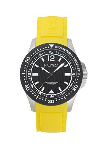Nautica Herren-Armbanduhr - Gelb Watch Nautica