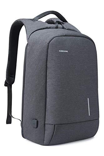 Kingsons Pack Pro -Laptop-Rucksack, Business-Computer-Tasche Schlanker Laptop-Rucksack 15,6