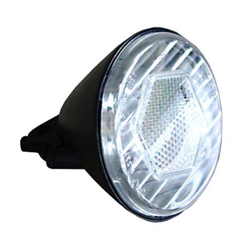 Profex Halogen-Ellipsoid-Scheinwerfer 10 Lux, schwarz