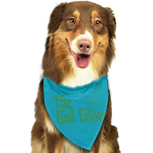 Osmykqe Hundetuchana-Haustier-Schal der Golf-Vater-Klassische niedliche Haustier-Hündchen-Bandana-Schal ()