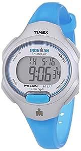 Timex Damen-Armbanduhr XS Ironman Traditional 10-Lap Digital Quarz Plastik T5K739