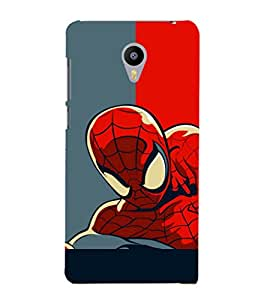 printtech Superhero Avengers Back Case Cover for Meizu m2 note