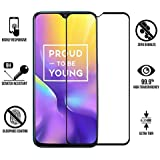 SuperdealsForTheinfinity Full Glue 6D Edge-to-Edge Screen Protection Tempered Glass for REALME U1 (Black)