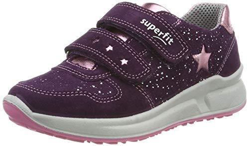 Superfit Mädchen Merida' Sneaker, Violett (Lila/Rosa 90), 27 EU
