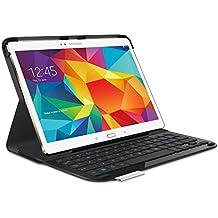 Logitech Type S - Funda para tablet Samsung Galaxy Tab S 10.5 (teclado Bluetooth incluido), negro