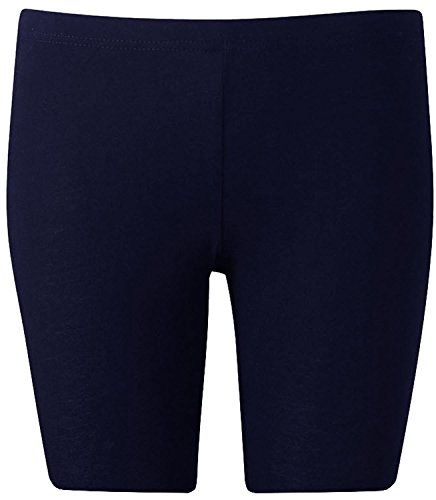 Nouveaux Femmes Grande Taille Activewear sport Cyclisme genou Shorts 44-54 Navy