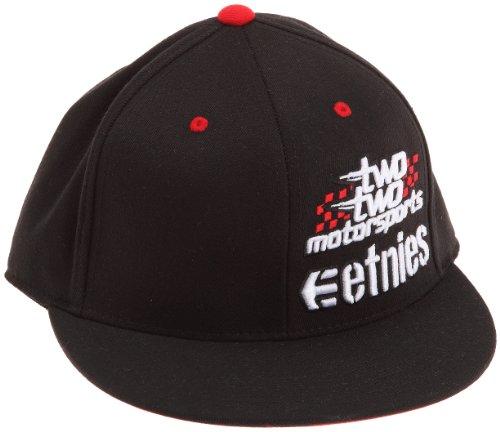Etnies Throttle-Kappe mit Logo, Herren, Acryl Gr. Medium, Schwarz - Schwarz