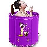 ZH1 Planschbecken Badewanne, Faltbadewanne, aufblasbares PVC-Pool, Whirlpool, Temperatur für...