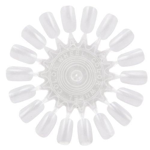 TRIXES 18 Astuce Art Faux ongles Wheel & Pratique Salon Manucure Beauté