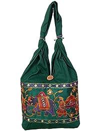 Womaniya Shoulder Bag (Green) (Woman-861)