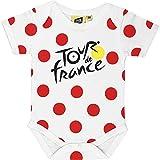 Tour de France Body - Scarpetta da Ciclismo, Collezione Ufficiale, Bimba 0-24, Bianco, 12 Mesi