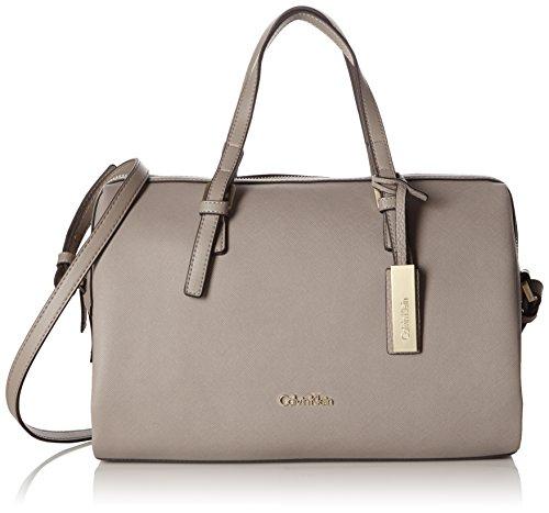 Calvin Klein Jeans  M4RISSA DUFFLE, Sacs portés main femme - Gris - Grau (FUNGI 094), 26x33x17 cm (B x H x T)