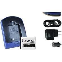 Baterìa + Cargador (USB/Coche/Corriente) EA-BP70A para Samsung ES65 ES70 PL20 PL21/ ST WB - v. lista