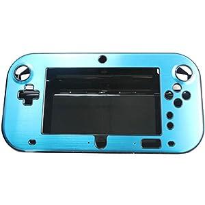 Xfun Schutzhülle für Nintendo Wii U Gamepad Fernbedienung, Aluminium, stoßfest, hellblau
