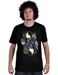 Sherlock - Camiseta - The Ace From Baker Street (el as de la Baker Street) - negro - unisex - calidad suprema - XXL