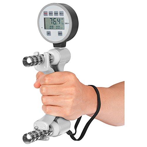 Digitales Hand Dynamometer inkl. Tragekoffer, Handkraftmesser, Stärke Bewertung (Elektronisches Dynamometer)