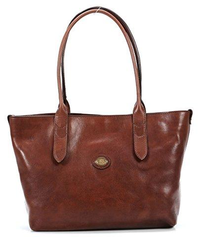 The Bridge Essentials Donna Shopper Tasche Leder 33 cm Braun