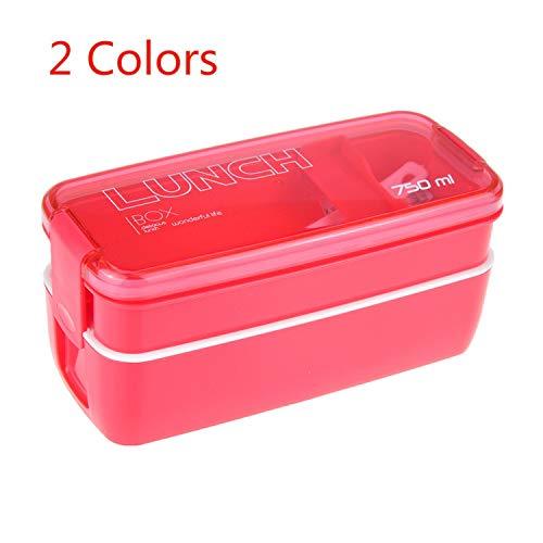 Lunchbox aus Kunststoff, 750 ml, für Kinder,