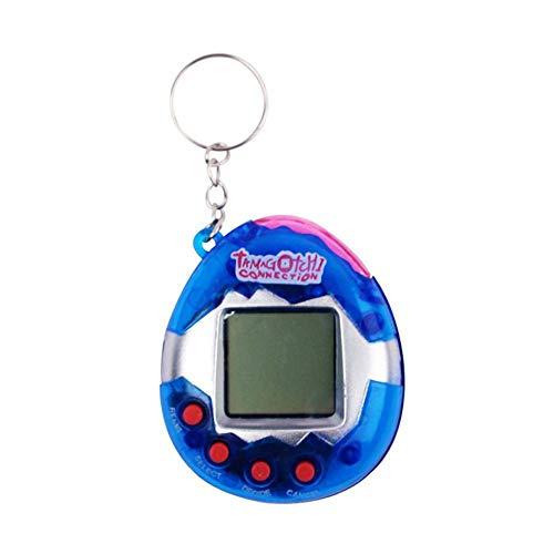 cweep electronic pet game machine, child nostalgic tamagotchi electronic virtual cyber tiny pet toy game machine. machine (blue)