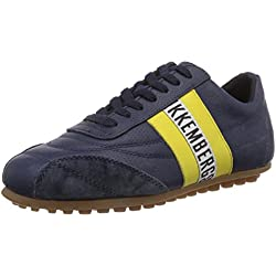 Bikkembergs Soccer 106 L.Shoe Uni Leather Scarpe Low-Top, Uomo