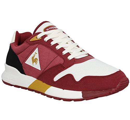 LE COQ SPORTIF Omega X Techlite toile Homme Ruby Wine Ruby Wine / Marshmallow