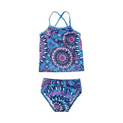 JERFER Kinder Mädchen Strand Sport Tankini Badeanzug Bikini einstellen