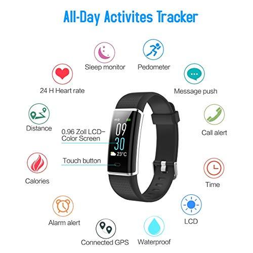 iPosible-Fitness-Tracker-Contapassi-Orologio-Fitness-Impermeabile-IP68-Braccialetto-Fitness-Cardiofrequenzimetro-da-Polso-Activity-Tracker-Pedometro-Smartwatch-GPS-Smart-Band-per-Donna-Uomo-Bambini