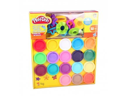 Kit de 16 pâtes à modeler Play-Doh
