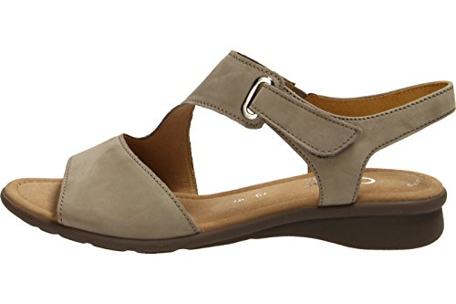 Gabor Damenschuhe 66.063.33 Damen Sandalen, Sandaletten, Mehrweite Visone