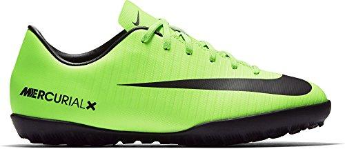 Nike Mercurial Victory Vi Tf, Scarpe da Calcio Unisex – Bambini Verde (Electric Green/blk-flsh Lm-wht)