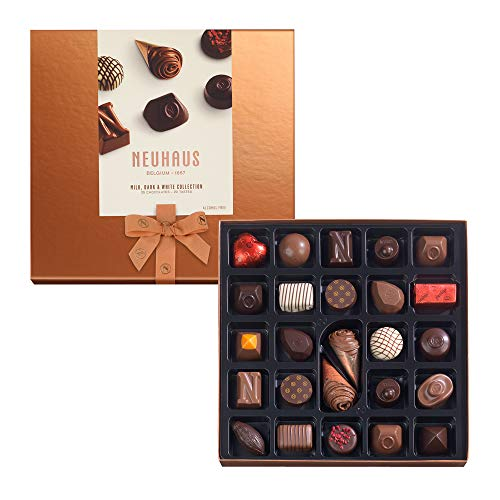 Neuhaus Collection Milk, Dark & White Chocolate - 25 bombones
