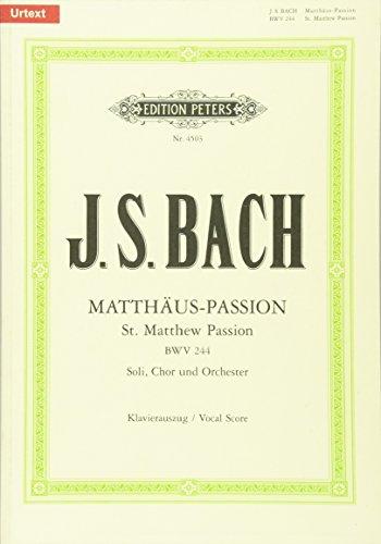 Matthaus Passion Bwv 244 (Ka) Chant