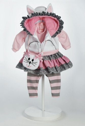 Adora 20920924 - Cat's Meow Outfit, Puppenzubehör (Doll Adora Outfit)