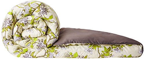 Amazon Brand - Solimo Microfibre Printed Comforter, Double (Spring Blossom, 200 GSM) Image 2