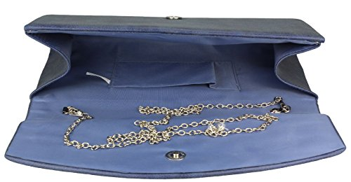 Alex Flittner Designs,  Marrone grayish brown suede Blu (Blu navy Suede)
