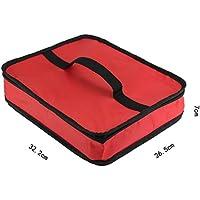 Preisvergleich für Yudanwin Leinwand-Lunch-Tasche Erwachsene Fast-Food-Box Isolierung Paket große Mitnehmer Lunch Bag