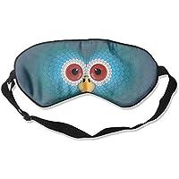 Eye Mask Eyeshade Owl Face Cartoon Sleeping Mask Blindfold Eyepatch Adjustable Head Strap preisvergleich bei billige-tabletten.eu