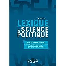 Lexique de science politique (Lexiques)
