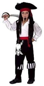 Childrens Boy Pirate Captain Costume - Small