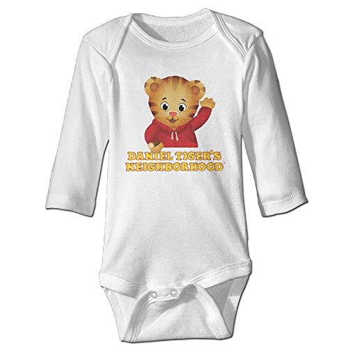 Ejunlekeji body per bambini manica lunga baby child 100% cotton long sleeve toddler bodysuit daniel tiger's neighborhood babysuits tops unique design newborn sleepsuit gift