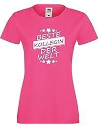 ShirtInStyle Lady T-Shirt Beste KOLLEGIN der Welt,,viele Farben, Größe XS-XXL