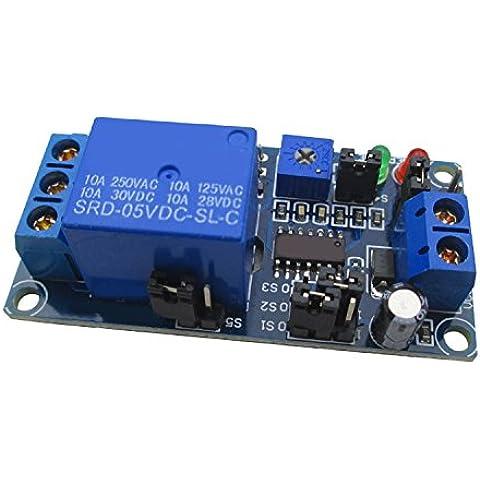 5-V Alto/Basso ritardo di attivazione modulo di interruttore di circuito di ritardo relè temporizzati di ritardo