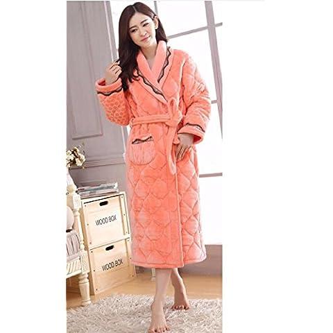 le donne d 'inverno pigiama a tre - livelli abito